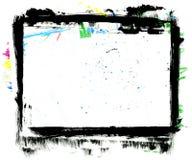 Blocco per grafici Grungy Fotografia Stock Libera da Diritti