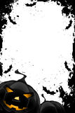 Blocco per grafici Grungy di Halloween Immagini Stock