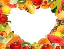 Blocco per grafici Heart-shaped Fotografie Stock