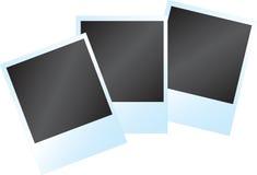 Blocco per grafici istante in bianco della foto Fotografia Stock Libera da Diritti