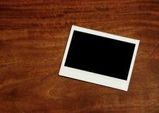 Blocco per grafici istante vuoto della foto fotografia stock