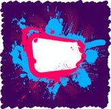 Blocco per grafici luminoso del grunge Fotografia Stock