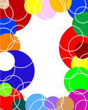 Blocco per grafici Many-colored Fotografie Stock