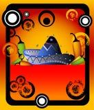 Blocco per grafici messicano Immagine Stock