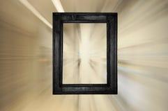 Blocco per grafici nero Fotografie Stock