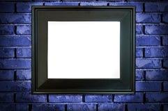 Blocco per grafici nero Fotografia Stock