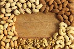 Blocco per grafici Nuts immagine stock libera da diritti
