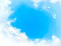 Blocco per grafici nuvoloso Fotografie Stock