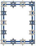 Blocco per grafici o bordo ebreo della stella