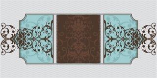 Blocco per grafici ornamentale astratto Fotografia Stock