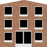 Blocco per grafici-priorità bassa la casa Immagine Stock Libera da Diritti