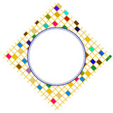 Blocco per grafici quadrato variopinto Fotografie Stock Libere da Diritti