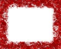 Blocco per grafici rosso Fotografia Stock