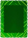 Blocco per grafici verde Fotografie Stock