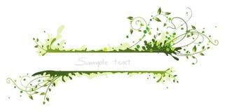 Blocco per grafici verde illustrazione vettoriale