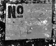 Blocco per grafici verniciato con testo Immagini Stock Libere da Diritti