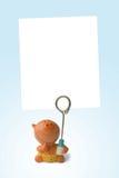 Blocco per grafici vuoto per la foto del bambino fotografia stock libera da diritti