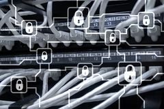 Blochain information encryption. Cyber security, crypto currency.  stock photos