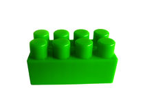 Block. Green toy royalty free stock photography