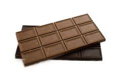 Block av choklad royaltyfri foto