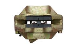 Block av den mekaniska bilbromsen Arkivfoton