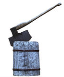 Block axe Stock Photo