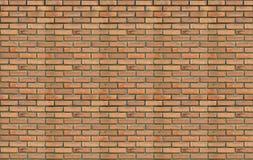 Block background . old brick wall of orange bricks. Stock Images