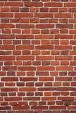 Block background . old brick wall of red bricks. Royalty Free Stock Photo