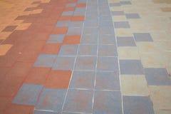 Block-Boden-Muster, Zusammenfassung, Hintergrund Lizenzfreie Stockbilder