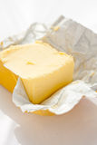 Block of butter Royalty Free Stock Image