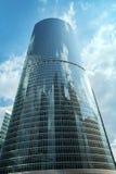 Block C des Naberezhnaya-Turms in Moskau-Stadt Stockbild