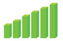 Block Chart Diagram Stock Image