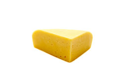 Block of Cheese Stock Image