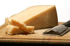 Block Of Cheese stock photos