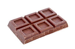 Block of chocolate Royalty Free Stock Photography