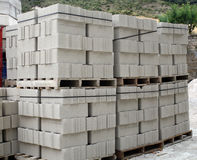 Block for the construction. Royalty Free Stock Image