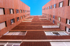 Block of council flats Royalty Free Stock Image