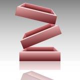 Block-Cube Royalty Free Stock Photo