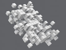 Block, cube Royalty Free Stock Images