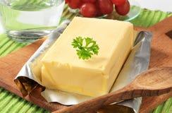 Block der frischen Butter Lizenzfreie Stockbilder