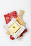 Block der frischen Butter Lizenzfreies Stockbild