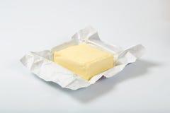 Block der frischen Butter Stockfoto