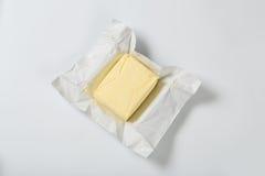 Block der frischen Butter Lizenzfreie Stockfotos