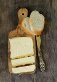 Block der frischen organischen Butter Lizenzfreies Stockfoto