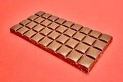 Block der Schokolade Stockfoto