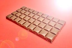 Block der Schokolade Stockfotos
