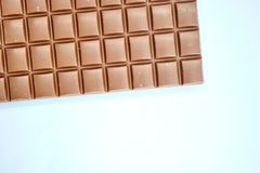 Block der Schokolade Lizenzfreie Stockfotografie