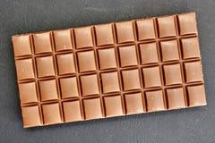 Block der Schokolade Stockfotografie
