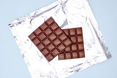 Block der Schokolade Lizenzfreie Stockbilder