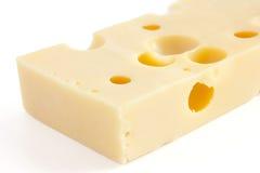Block der Schweizer Art Käse Lizenzfreie Stockfotos